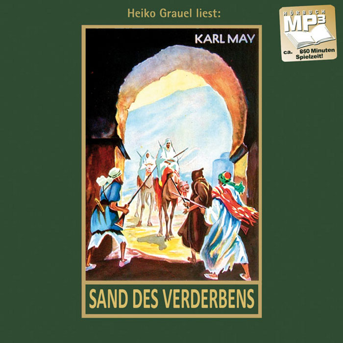 Sand des Verderbens, gelesen von Heiko Grauel