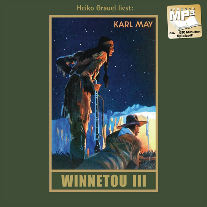 Winnetou 3, gelesen von Heiko Grauel