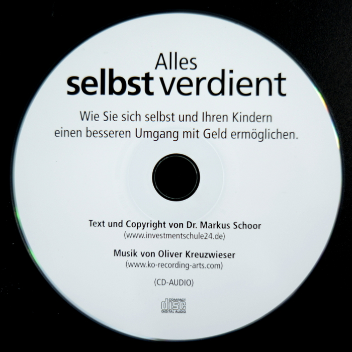 Alles selbst verdient, Text und Copyright von Dr. Markus Schoor