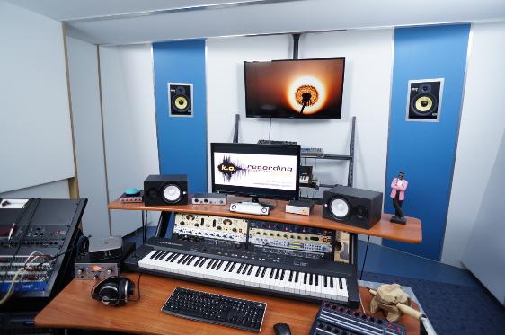 Control Room Tonstudio Frankfurt